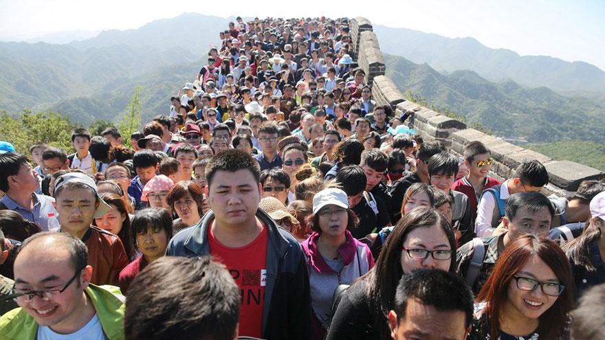 Реалноста од посетата на Кинескиот ѕид