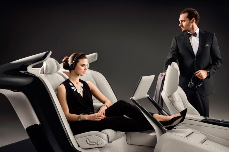(1) Волво С90: Неверојатен концепт ни покажува луксузна внатрешна конзола
