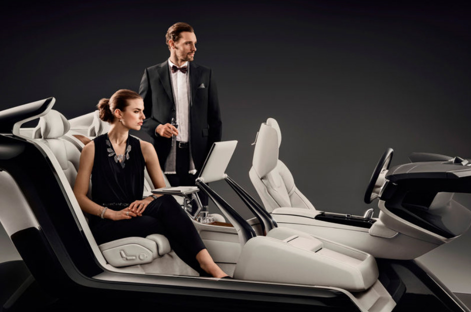 (2) Волво С90: Неверојатен концепт ни покажува луксузна внатрешна конзола