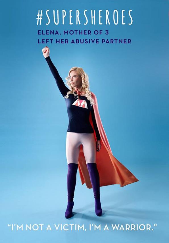 (3) 5 жени кои преживеале домашно насилство ја покажуваат својата сила преку моќни фотографии