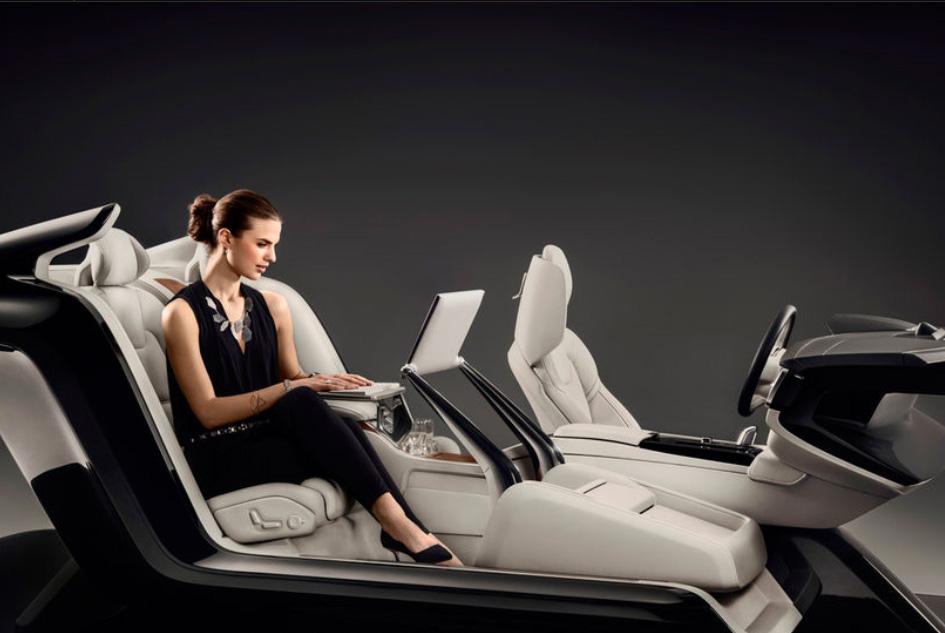(3) Волво С90: Неверојатен концепт ни покажува луксузна внатрешна конзола