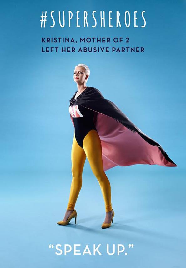 (4) 5 жени кои преживеале домашно насилство ја покажуваат својата сила преку моќни фотографии