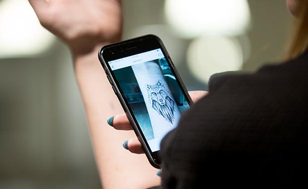 Кое е најдоброто место за тетоважа? Оваа апликација го крие одговорот!