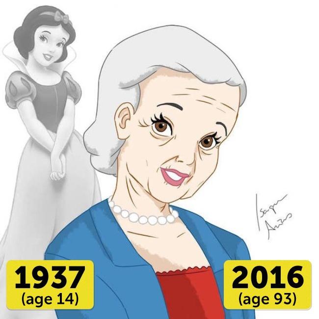 Колку години би имале денес принцезите од Дизни и како би изгледале?