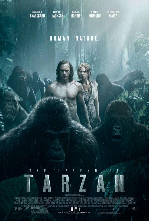 (1) Филм: Легендата за Тарзан (The Legend of Tarzan)