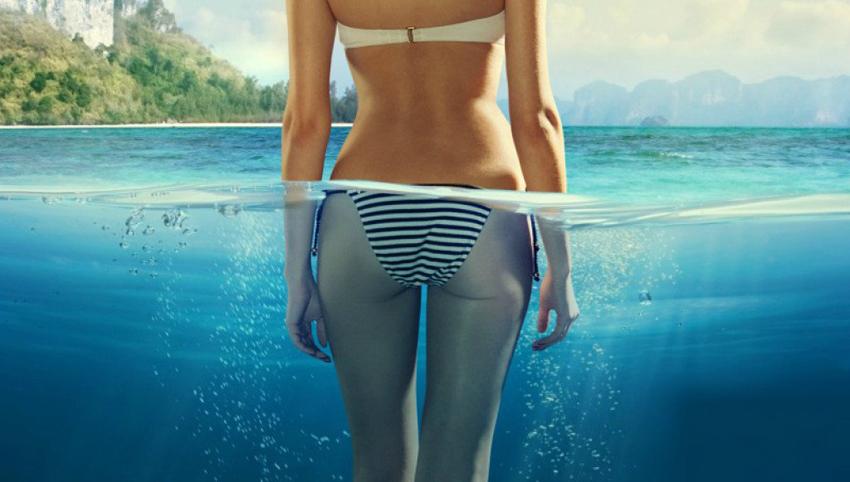 (1) Со 3 лесни вежби во море до тенок струк и цврст задник