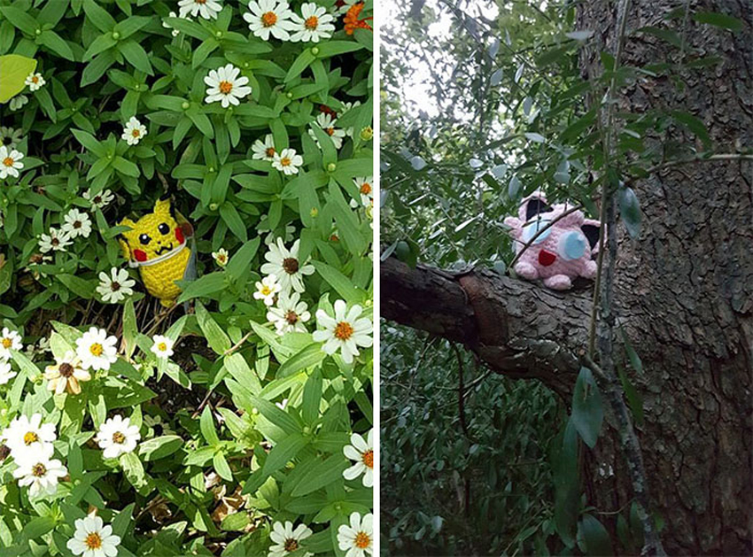 Прекрасни мали фигури ѕиркаат од тајните места и го чекаат среќниот пронаоѓач