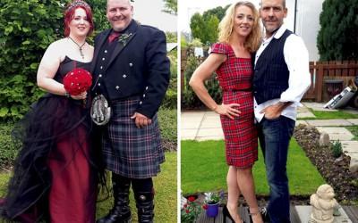 Инспиративни фотографии од парови кои заедно го изгубиле вишокот килограми