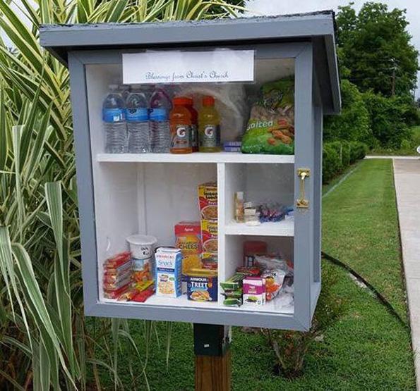 (5) Хумана идеја: Улични шкафчиња за донација на храна и средства за хигиена