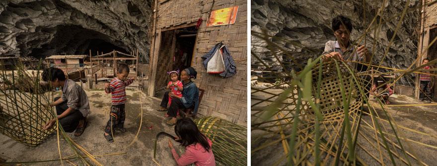 (5) Постои голема пештера во кина, со училиште и терен за кошарка, каде што живеат 100 луѓе