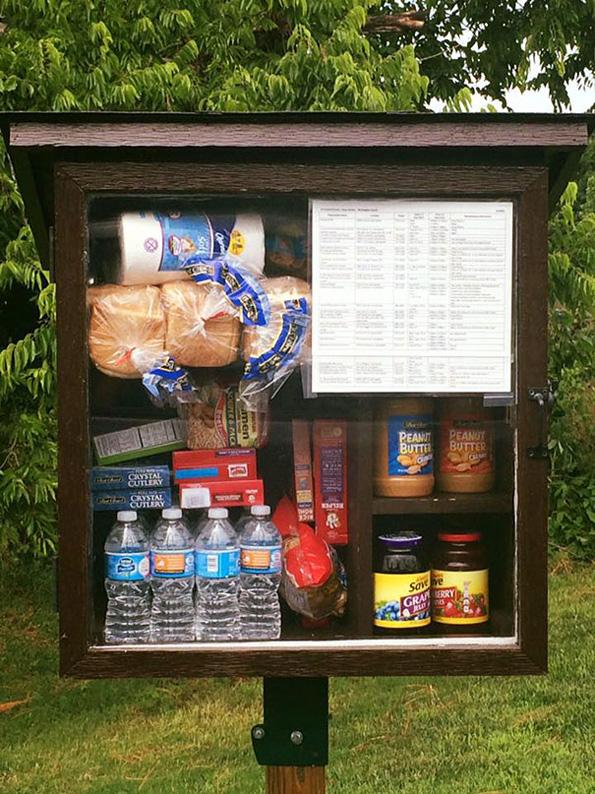 (7) Хумана идеја: Улични шкафчиња за донација на храна и средства за хигиена