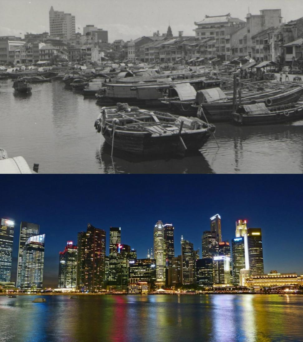 Сингапур, 1960 и денес
