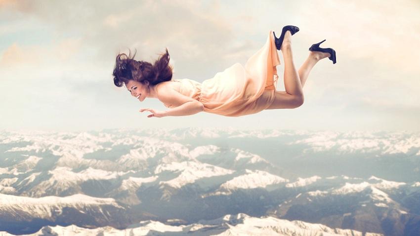 Доколку сонувате како летате, тоа значи нешто прекрасно!