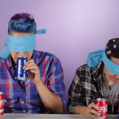 Интересен предизвик: Можете ли да препознаете дали се работи за Кока-Кола или за Пепси?