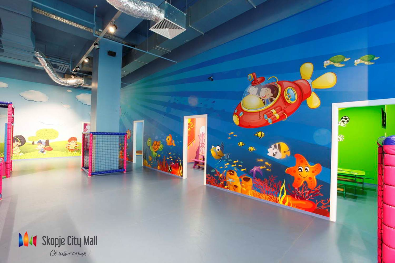 (1) Креативни работилници и голема роденденска забава за деца за четвртиот роденден на Скопје сити мол