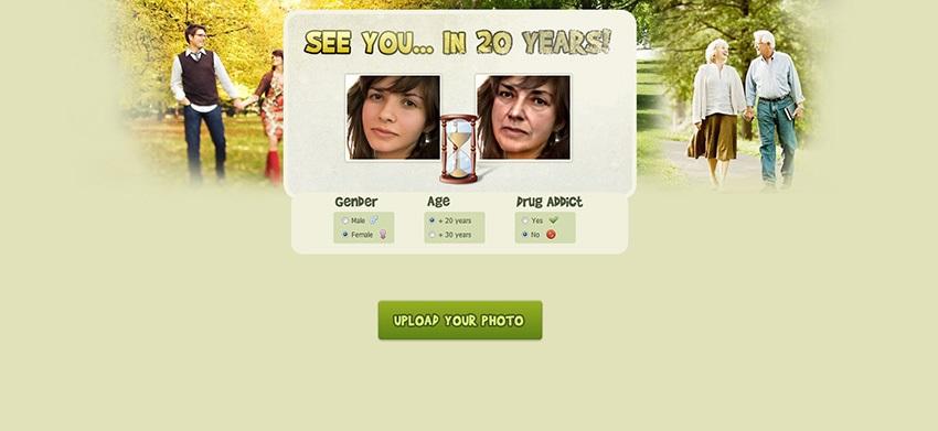 Погледнете како ќе изгледате за 20 години од сега