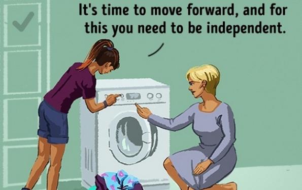 Време е да продолжиш напред. А за тоа треба да бидеш независен.