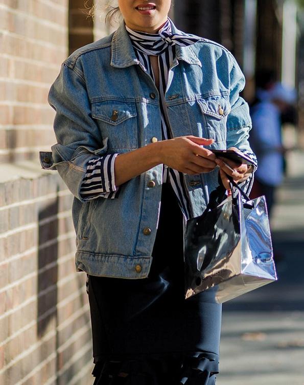 5 нови начини на коишто можете да ги носите тексас јакните ова есен