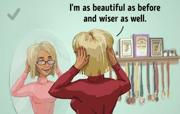 Убава сум како претходно, а и мудра