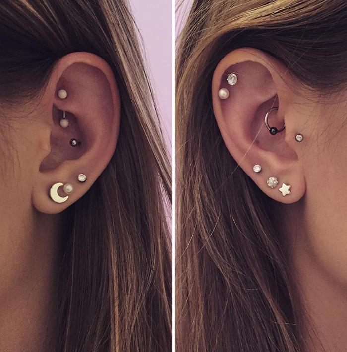 Украсете ги ушите со волшебни соѕвездија: Нов начин на пирсање што го освои светот