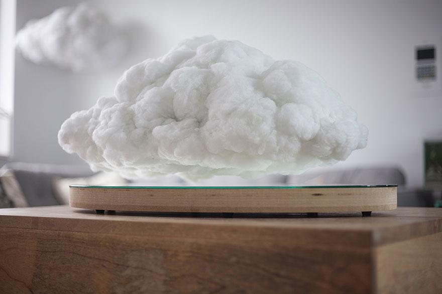Звучник во форма на облак што лебди: Музичка бура за вашиот дом