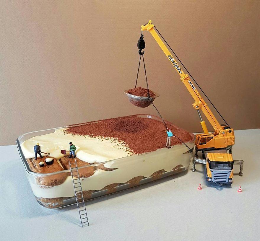 Италијански слаткар создава минијатурни светови направени од десерти