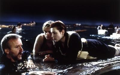 """Овие фотографии од снимањето на """"Титаник"""" го покажуваат филмот во сосема ново светло"""