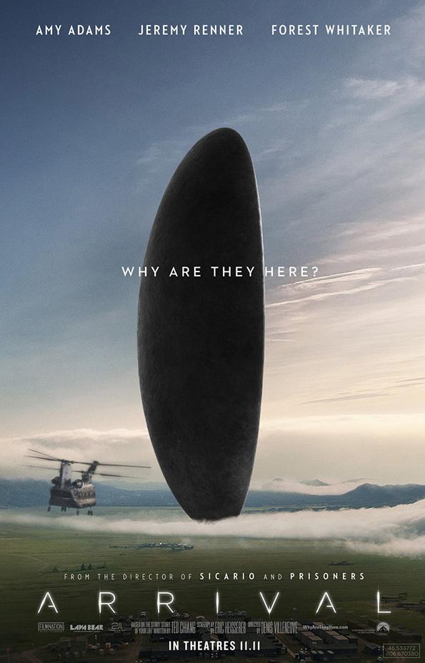 (1) Филм: Пристигнување (Arrival)