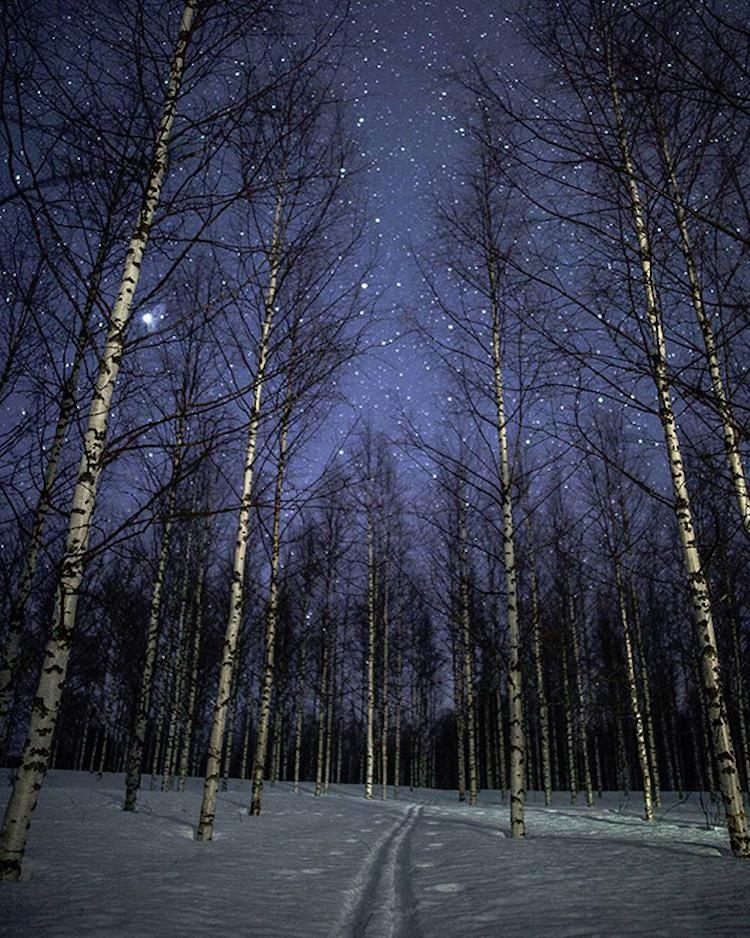 Магични зимски фотографии од Финска под северната светлина