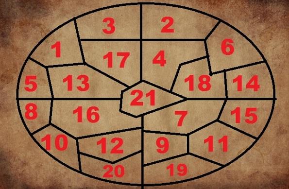 Одговор на вашето прашање за иднината ви дава овој круг на Нострадамус: Мапа со волшебни броеви која ги решава вашите дилеми