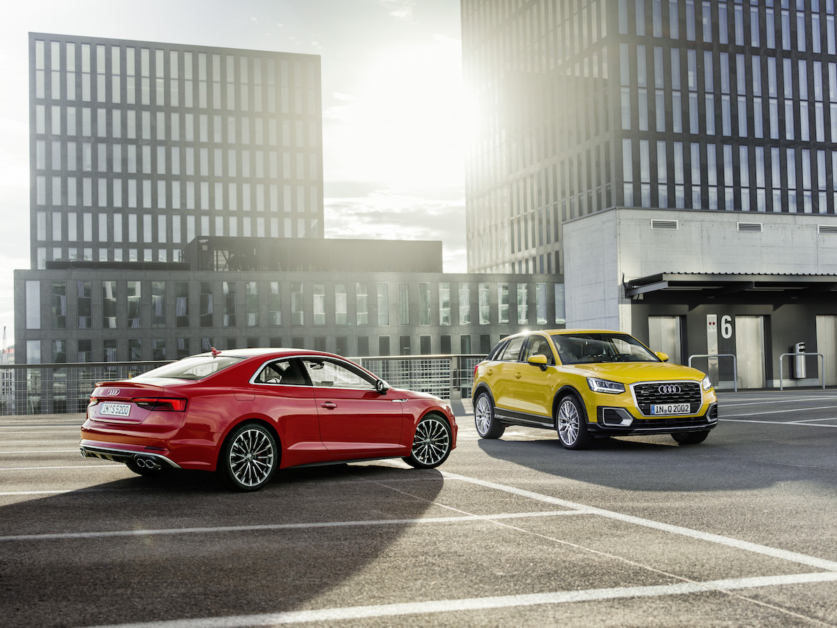 Euro NCAP test: five stars for the Audi A5 Coupe, Audi A5 Sportback and Audi Q2