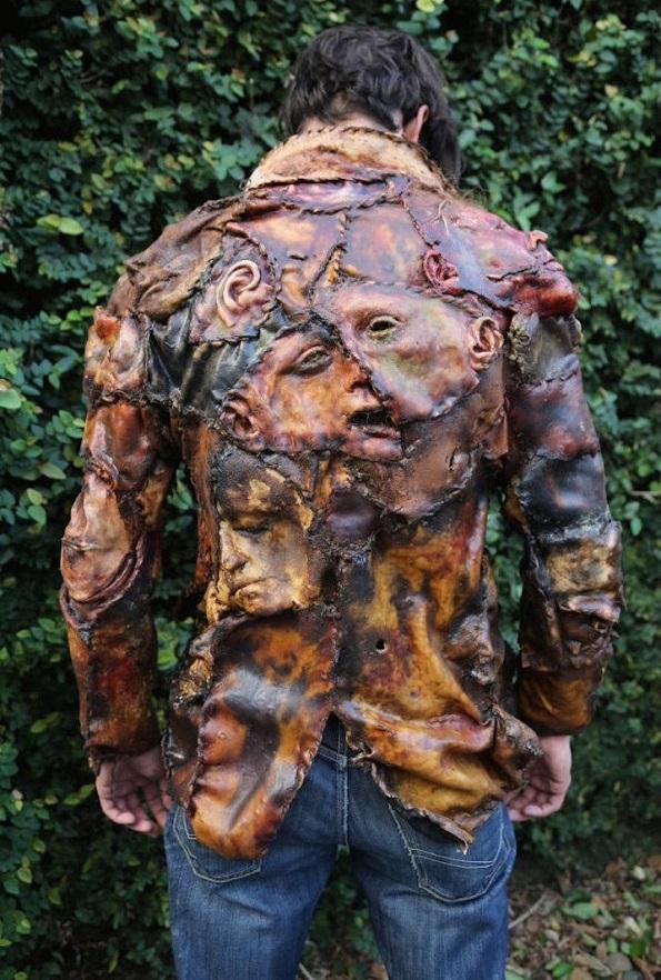 """Јакна од """"човечко месо"""": Би ја носеле ли на себе?"""