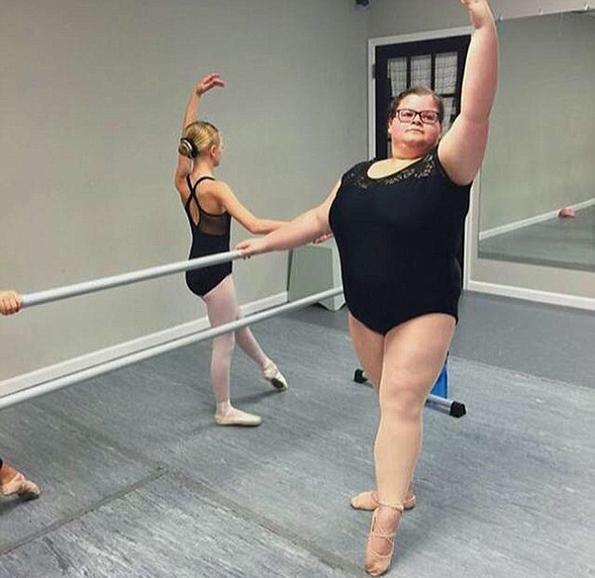 (5) Запознајте ја Лизи Хауел, балерината што ги руши сите стереотипи