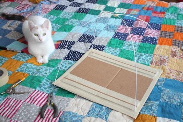 Направете сами: Шатор за вашата мачка