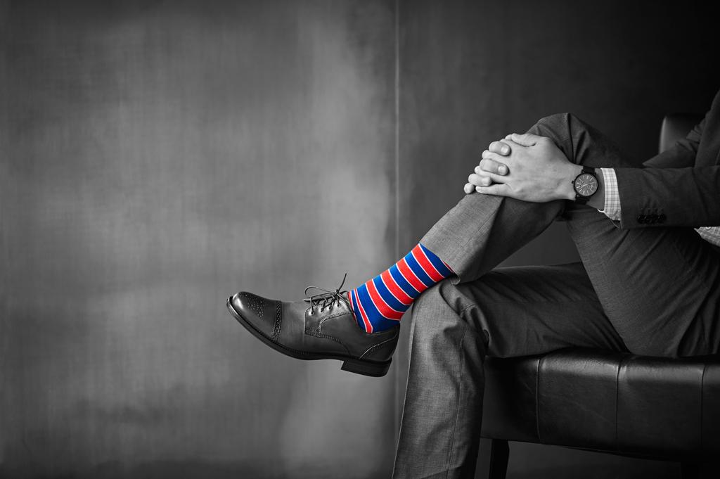 """Луѓето кои носат """"луди"""" чорапи се повеќе брилијантни, креативни и успешни"""