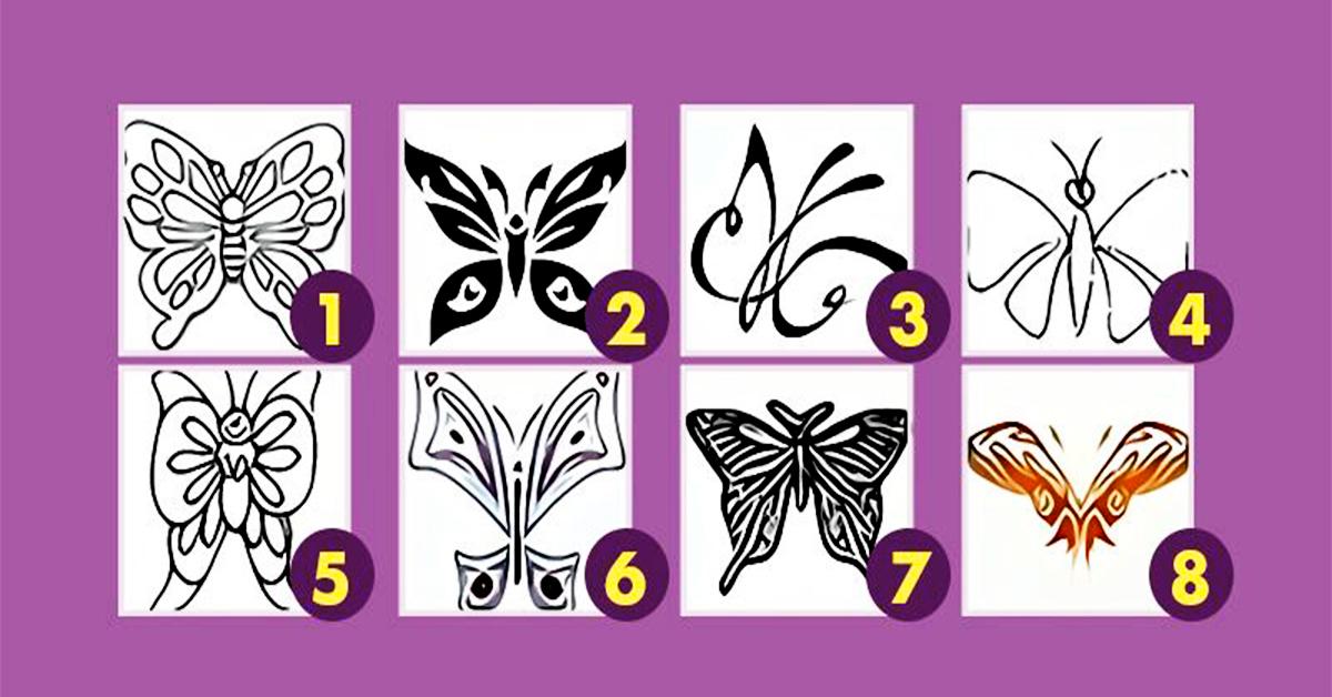 Одберете пеперутка и откријте потсвесни делови од вашата личност