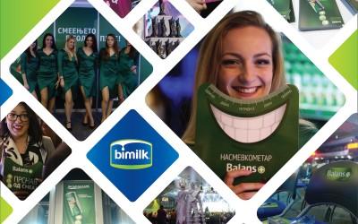 """Смеењето и здравјето рака под рака: 10-годишно партнерство на Бимилк и """"Златна Бубамара на популарноста"""""""