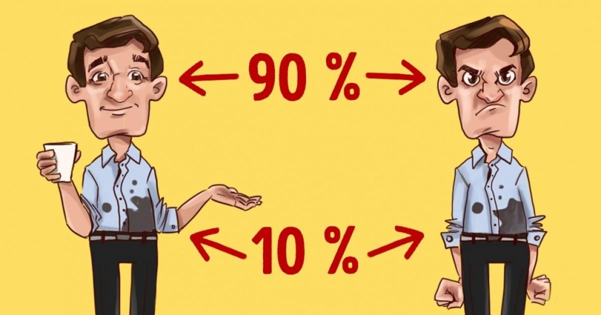 (0) Што точно е принципот 90/10 и како тој влијае на целиот ваш живот?