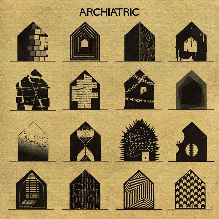 (1) Артист ги претставува менталните заболувања и нарушувања со помош на архитектурата