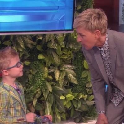 6-годишен неодолив пронаоѓач го преставува неговото паметно откритие во шоуто на Елен Деџенерис