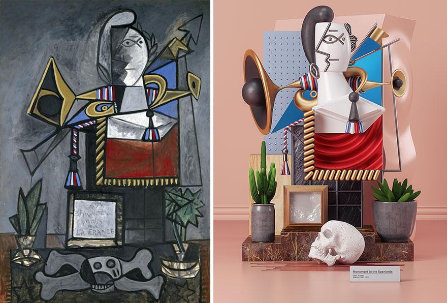 (3)7-dela-na-pablo-pikaso-rekreirani-kako-3d-skulpturi-kafepauza-mk
