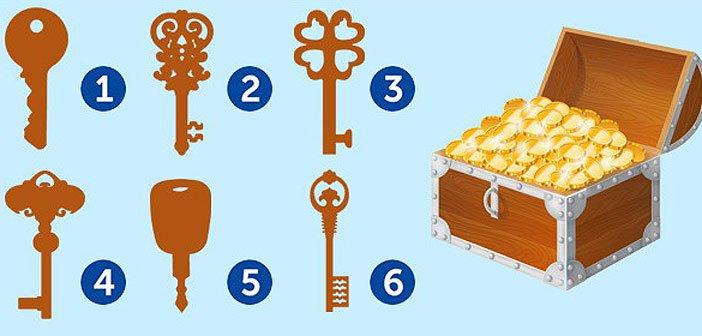 Со кој клуч би го отвориле овој ковчег? Добро размислете бидејќи одговорот ви го отсликува карактерот!