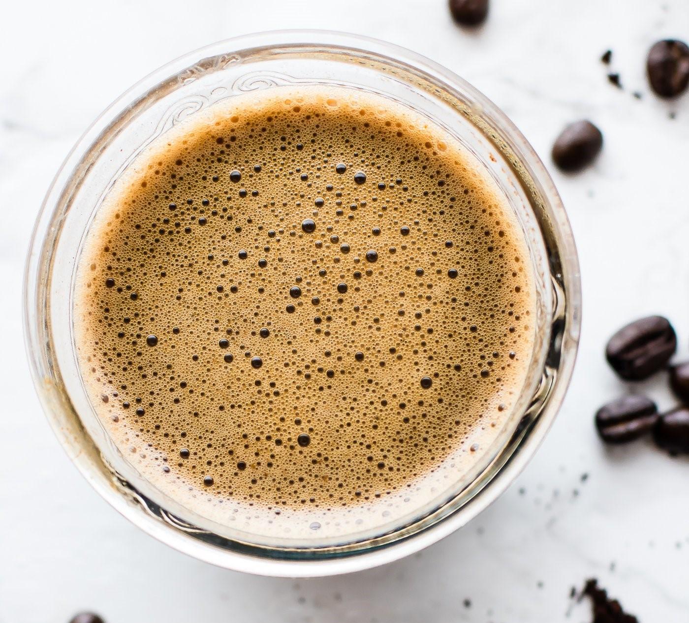 Турско кафе со кокос и морско оревче