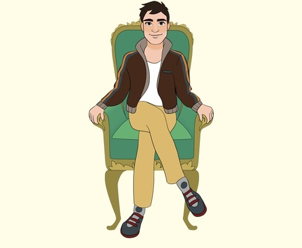 Одберете ја положбата во која најчесто седите и дознајте сѐ за вашиот карактер!