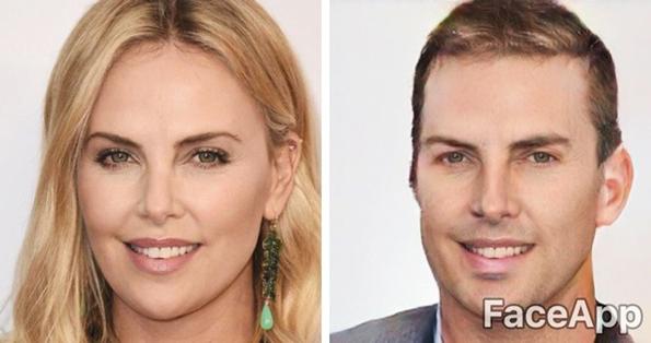Како би изгледале познатите личности кога би си го промениле полот?