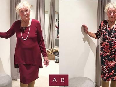 Оваа 93-годишна бабичка го замолува интернетот да ѝ помогне да си го одбере најубавиот свадбен фустан