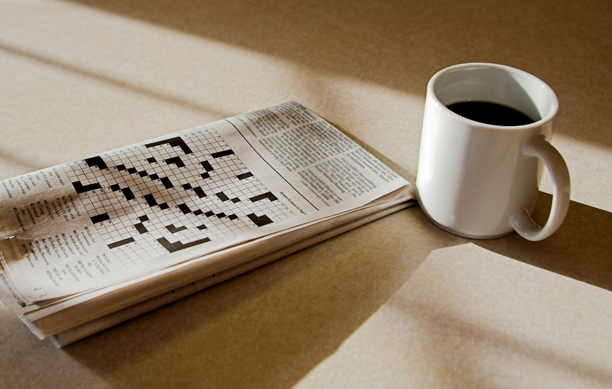 coffee and crossword