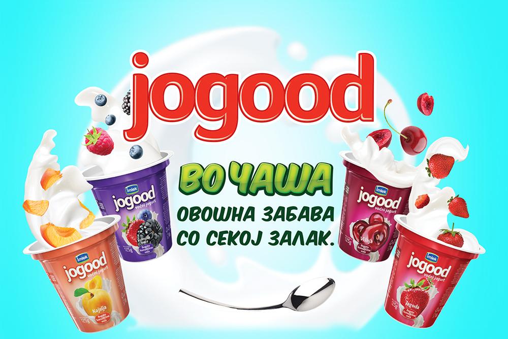 Бимилк со нов производ: Jogood во чаша ‒ Овошна забава со секој залак!
