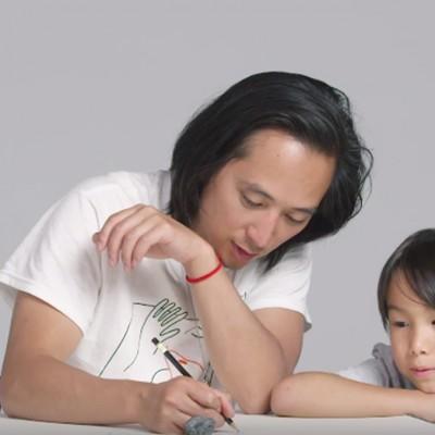 Деца ги опишуваат нивните родители на илустратор