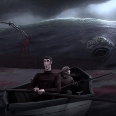 """""""Срцето на китот"""": Краток анимиран филм со тажен крај"""